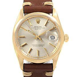Rolex Date 1500 34mm Mens Vintage Watch