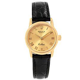 Rolex Cellini 6111 26mm Womens Watch