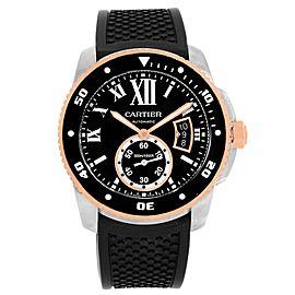 Cartier Calibre Diver W7100055 42mm Mens Watch