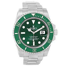Rolex Submariner Hulk 116610LV 40mm Mens Watch