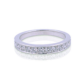 Tiffany & Co. Platinum with 0.25ct Diamond Ring Size 3.75