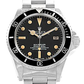 Rolex Seadweller 1665 Vintage 40mm Mens Watch