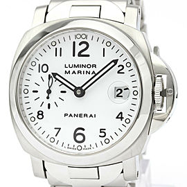 PANERAI Luminor Marina Steel Automatic Mens Watch PAM00051