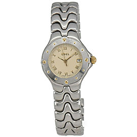 EBEL Sport Wave E6087621 Stainless Steel Quartz Women's Watch