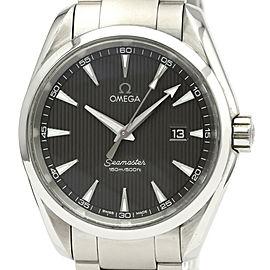 OMEGA Seamaster Stainless steel Aqua Terra Watch
