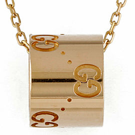 GUCCI 18k Pink gold icon Necklace