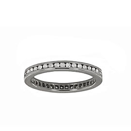 Cartier Ballerine Diamond Platinum Wedding Band Ring