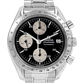 Omega Speedmaster Date Chronograph Steel Mens Watch 3511.50.00 Card