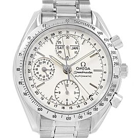 Omega Speedmaster Silver Dial Day Date Mens Watch 3521.30.00 Card