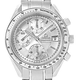 Omega Speedmaster Date Silver Dial Automatic Watch 3513.30.00