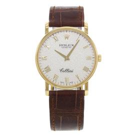 Rolex Cellini 5115/8 32mm Womens Watch