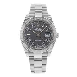 Rolex Datejust II 116334 BKRIO 41mm Mens Watch