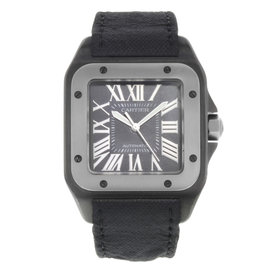 Cartier Santos 100 W2020010 38mm Mens Watch