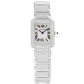 Cartier Tank Francaise W50012S3 25mm Womens Watch