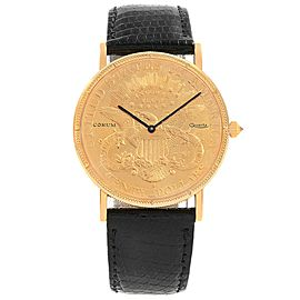 Corum 20 Dollar Double Eagle Coin 19118 36mm Unisex Watch