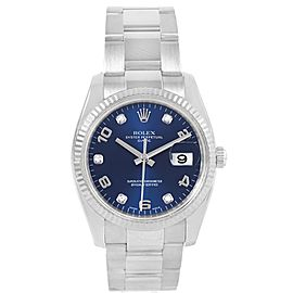 Rolex Date 115234 34mm Mens Watch
