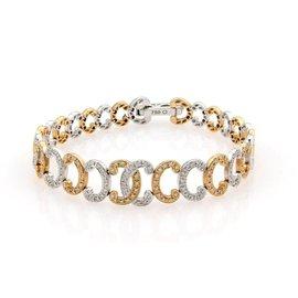 Phillipe Charriol 18K White & Rose Gold Diamond