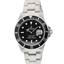 Rolex Submariner 16610 40mm Z Serial 2006 Stainless Steel Watch