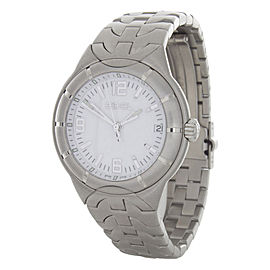 Ebel Type E 9187241 Stainless Steel White Dial Quartz 35mm Watch