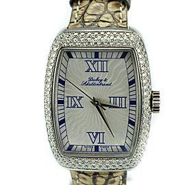 Dubey & Schaldenbrand 516 2.5 Ct Diamonds Silver Dial Automatic Women's Watch