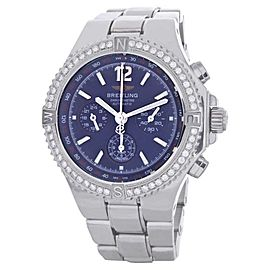 Breitling A39362 Hercules Diamond Chronograph Watch