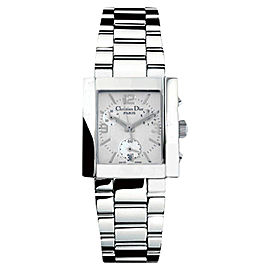 Christian Dior D81100MAGTC Silver Stainless Steel Chronograph Womens Watch
