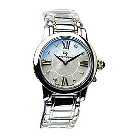 David Yurman Stainless Steel, Sterling Silver & 18K Rose Gold Sapphire Womens Watch
