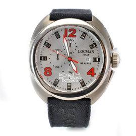Locman Mare 130 Titanium & Silver Dial 45mm Mens Watch