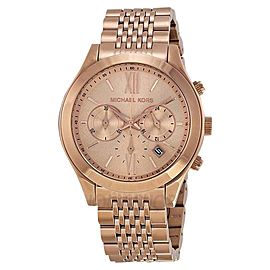 Michael Kors MK5775 Rose Gold Stainless Steel Bracelet Chronograph Watch
