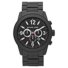Michael Kors MK8196 Chronograph Black Ion-plated Stainless Steel Mens Watch