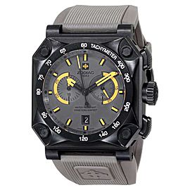 Zodiac ZMX ZO8537 Adventure Chrono Analog Display Swiss Quartz Grey Mens Watch