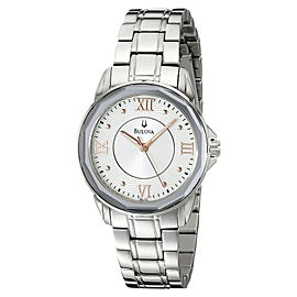 Bulova 96L172 Dress Round Bracelet Womens Watch