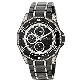 Bulova 98C111 Crystal Multi-Function Mens Watch