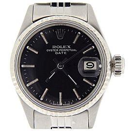 Rolex Date 6517 26mm Womens Vintage Watch