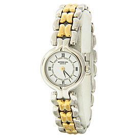 Raymond Weil 5876 Geneve Two-tone Stainless Steel Bracelet Quartz Watch