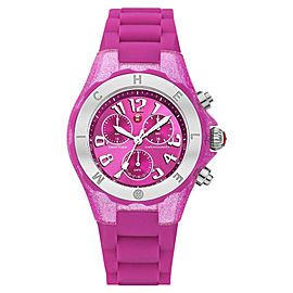 Michele MWW12F000075 Tahitian Jelly Bean Pink Watch