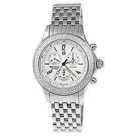 Michele MWW17A000001 Quartz Diamond Stainless Steel Watch