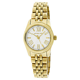 Michael Kors MK3229 Silver Dial Gold-Tone Stainless Steel Ladies Watch