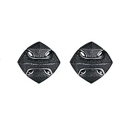 David Yurman Black Sterling Silver Armory Arrow Cufflinks