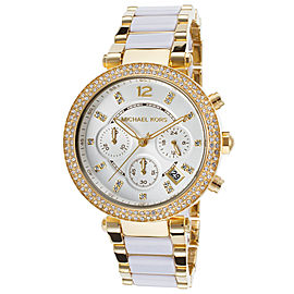 Michael Kors MK6119 Parker Chronograph Analog Sport Quartz 39mm Womens Watch