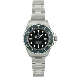 Rolex Sea Dweller 116660 Deep Sea Stainless Steel & Black Dial 44mm Mens Watch