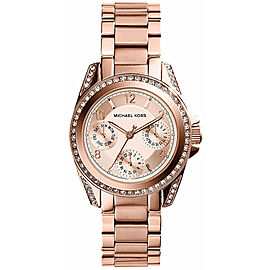 Michael Kors MK5613 Rose Gold Stainless Steel 33mm Womens Watch