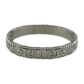 Bulgari 18K ​White Gold Parentesi Bracelet