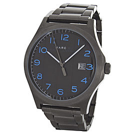 Marc By Marc Jacobs MBM5044 Gunmetal Tone Stainless Steel 43mm Mens Watch