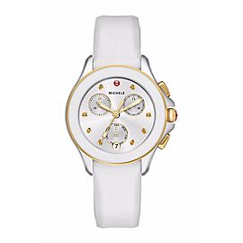 Michele MWW27C000008 Two Tone Stainless Steel 34mm Womens Watch