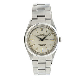 Rolex Oyster Perpetual 6564 Stainless Steel 34mm Mens Watch
