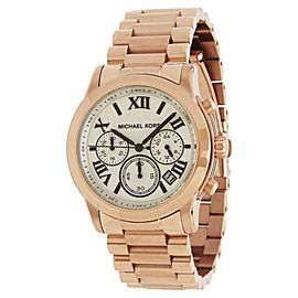 Michael Kors MK5929 Rose Gold Tone Stainless Steel 39mm Womens Watch