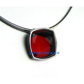 Silver Womens Pendant Necklace