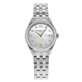 Baume & Mercier Clifton MOA10176 30mm Womens Watch