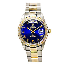 Tudor Day-Date 7019/3 Stainless Steel / 18K Yellow Gold Automatic 38mm Mens Watch